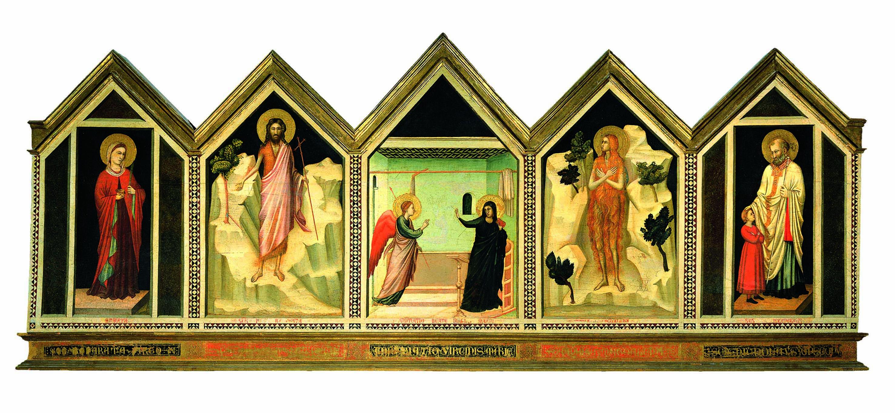 Giotto, Polittico, Cattedrale di Firenze