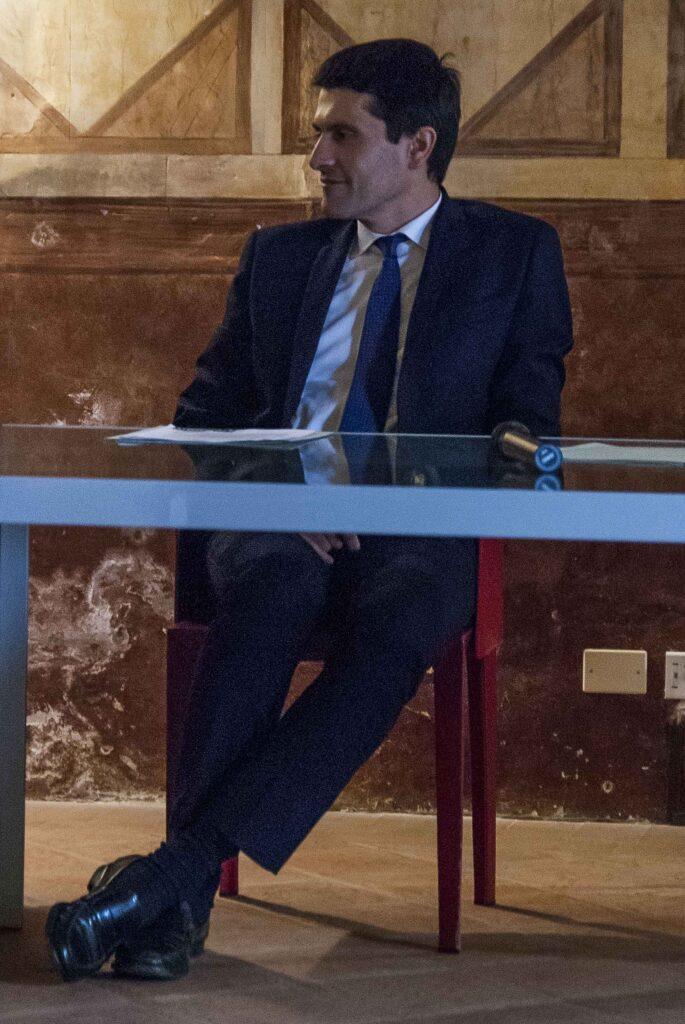 Il sindaco di Ospitaletto, Giovanni Battista Sarnico - © Emanuele Bernardelli Curuz