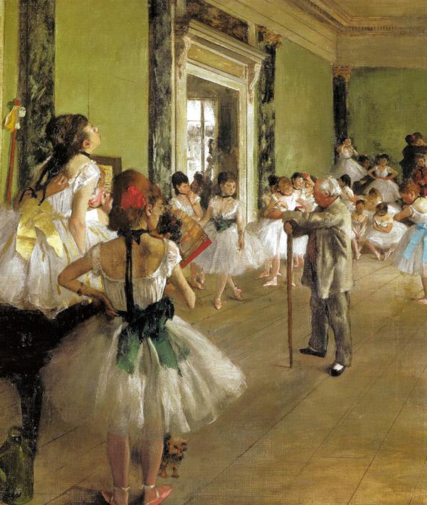 "Edgar Degas - ""Lezione di danza"" (1874) Museè d'Orsay, Parigi"