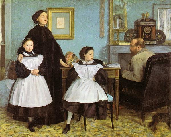 La famiglia Bellelli, 1858-1867