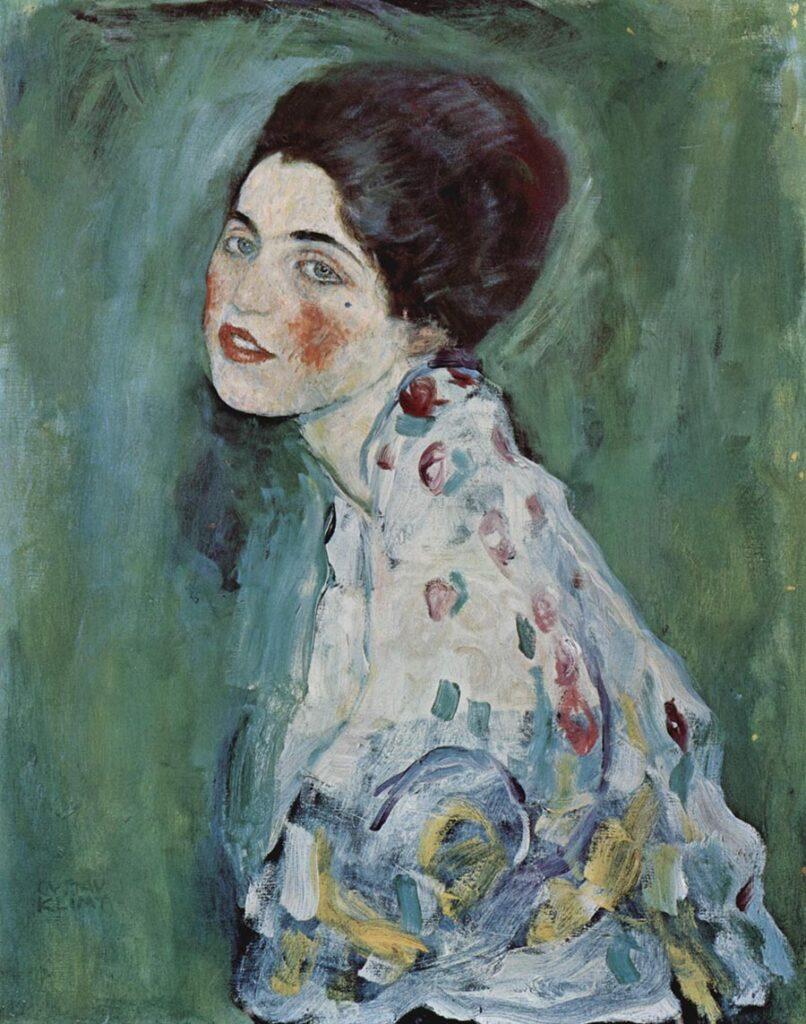 Gustav Klimt, Ritratto di dama, 1917
