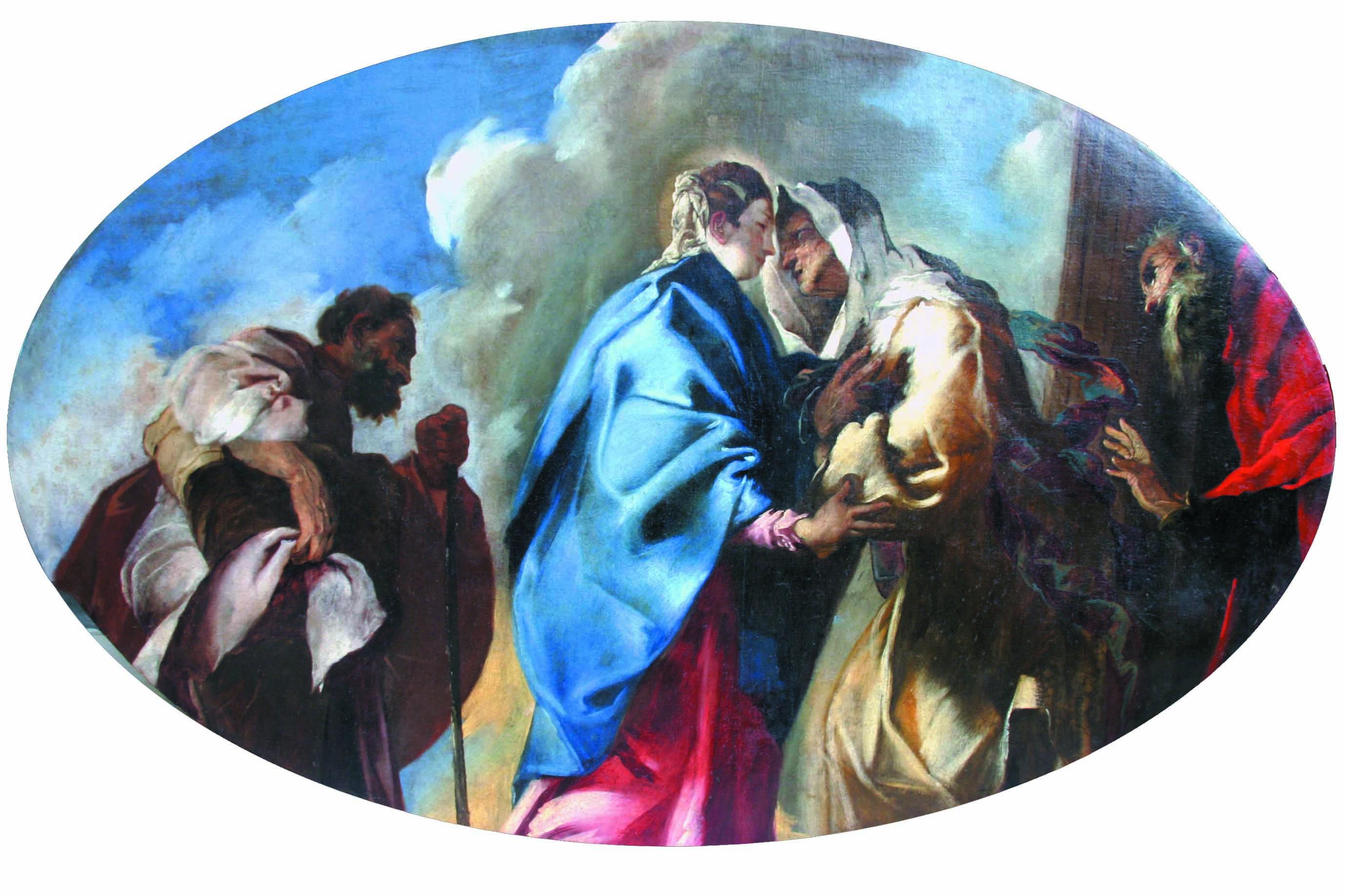 """La ritrovata """"Visitazione"""" di Francesco Maffei"""