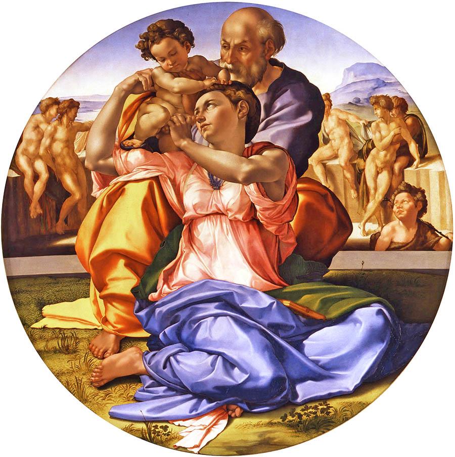 Michelangelo, Tondo Doni