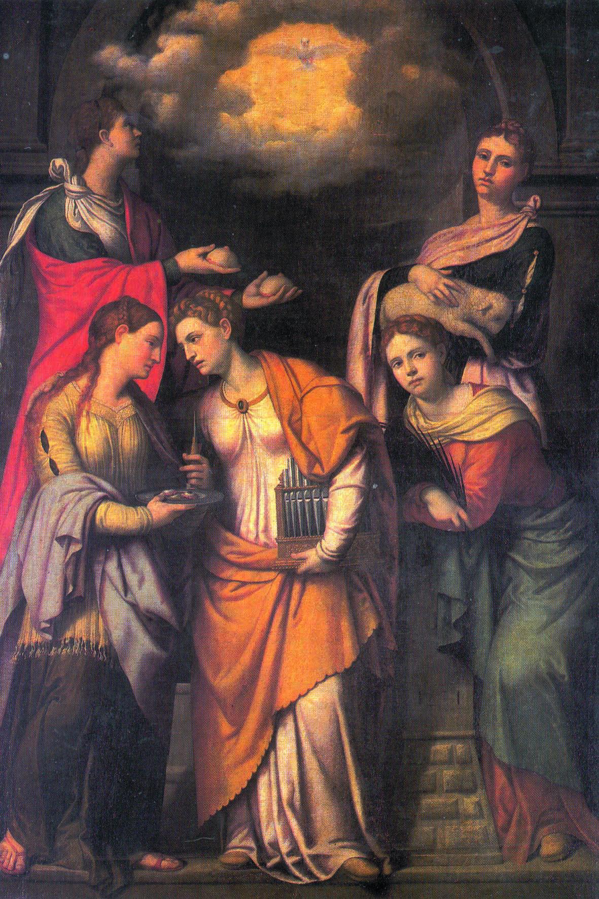 Pala del Moretto restaurata da Giambattista Speri