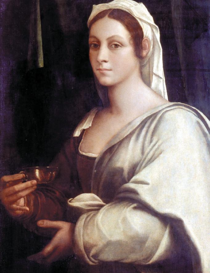"""Sebastiano del Piombo, """"Ritratto di Vittoria Colonna come Artemisia"""""""