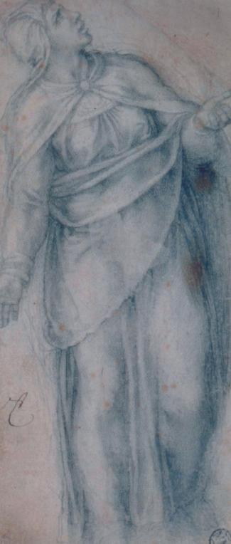 """Michelangelo, """"Maria sotto la Croce"""""""