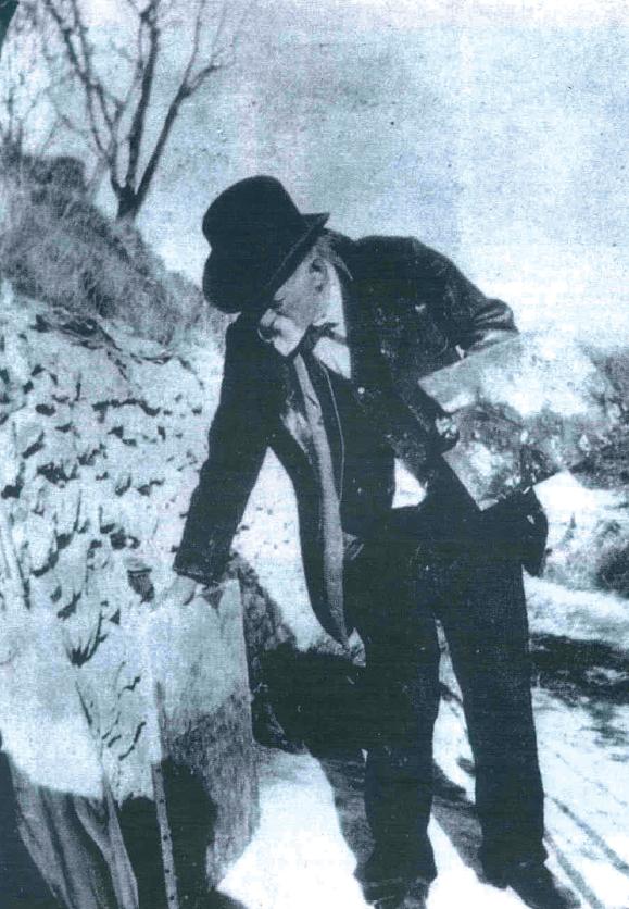 Cézanne all'opera, foto del 1906 circa