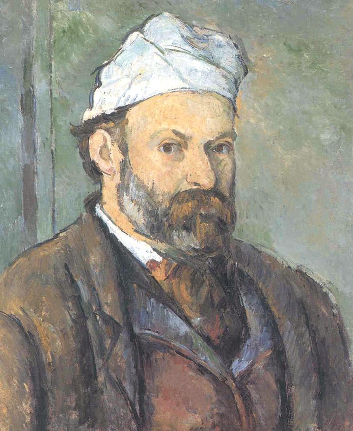 """""""Autoritratto col berretto bianco"""", 1881-82"""