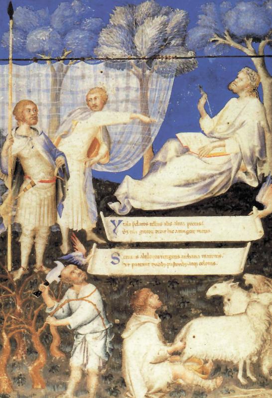 "Simone Martini, ""Allegoria virgiliana"", 1340"