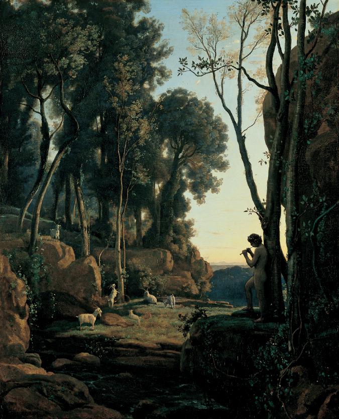 """""""Il pastorello"""", Camille Corot"""