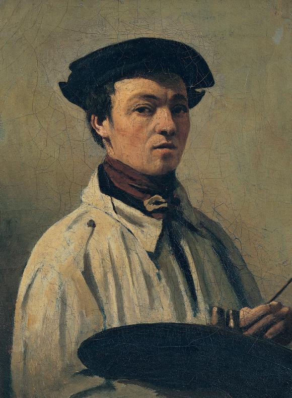 """""""Autoritratto"""", Camille Corot"""