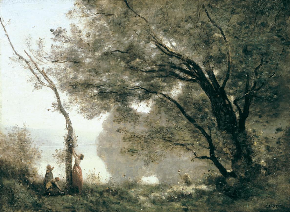 """""""Ricordo di Mortefontaine"""", Camille Corot"""