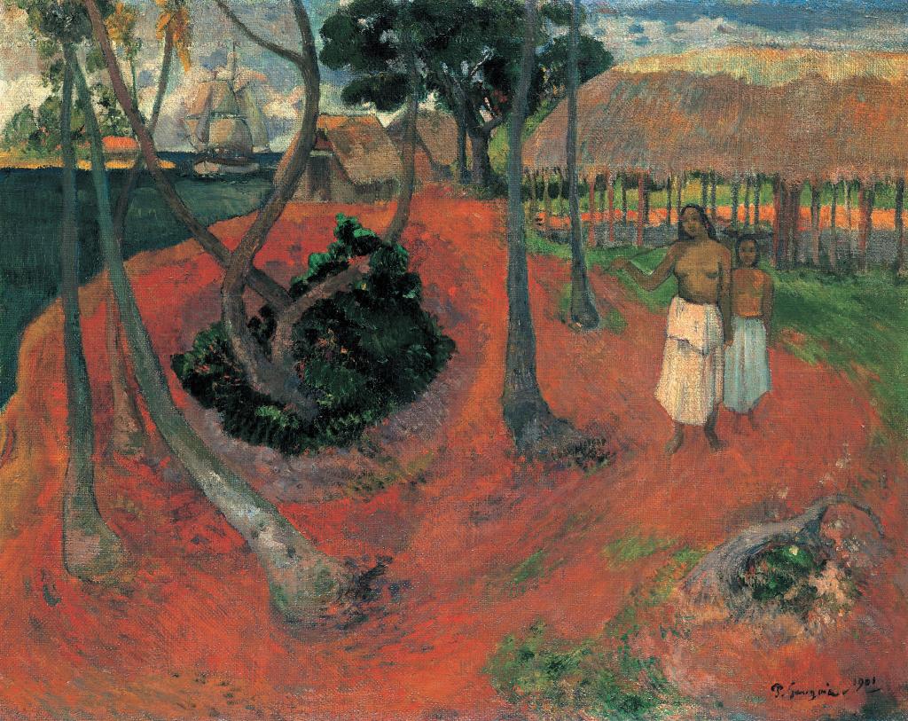 """""""Idillio a Tahiti"""", 1901"""