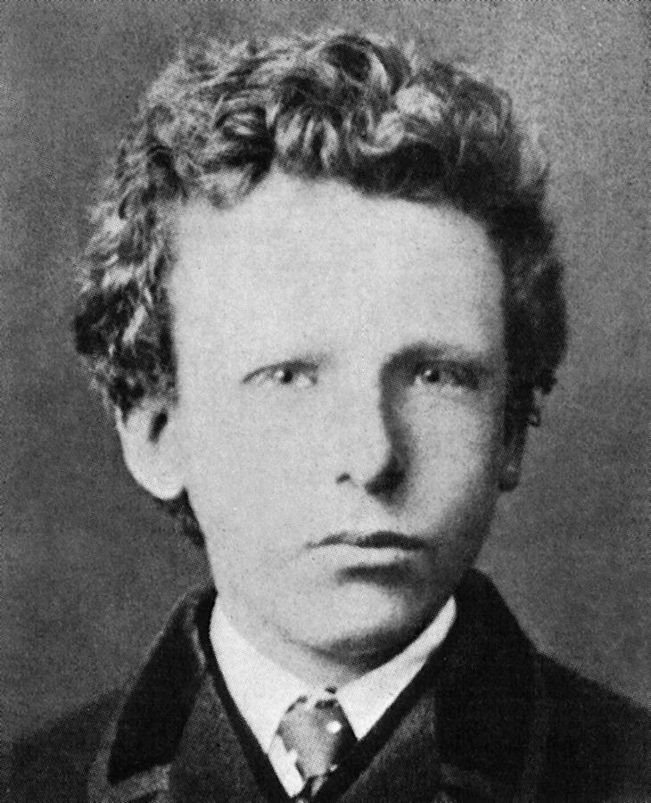 Vincent Van Gogh nel 1886