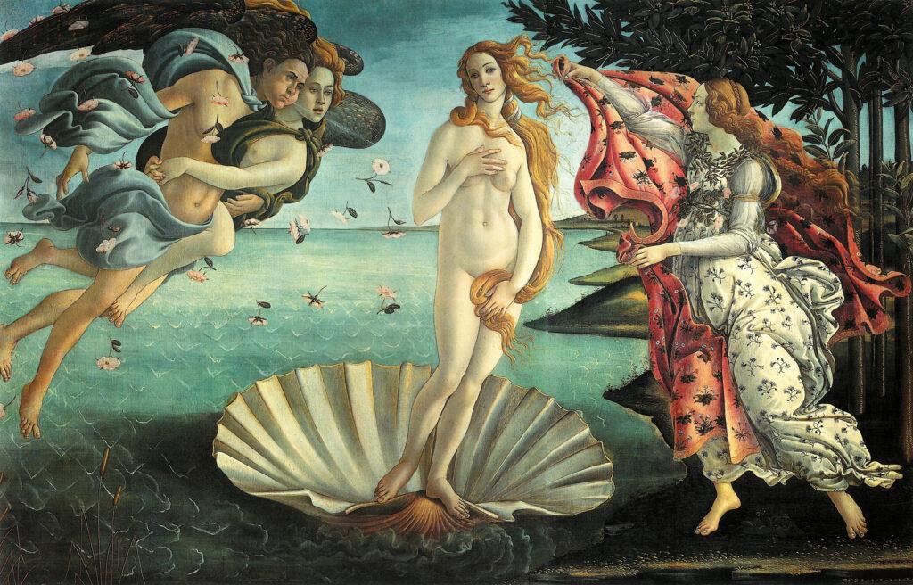 a botticelli venere