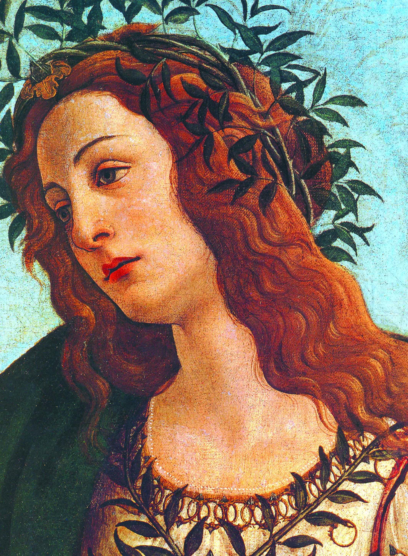 """Sandro Botticelli, """"Pallade e il Centauro"""" (particolare)"""