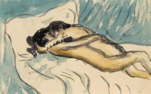 Picasso dipinge un rapporto sessuale con Odette