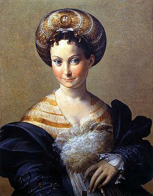 La Schiava turca è un dipinto a olio su tavola (67x53 cm) del Parmigianino, databile al 1532 circa e conservato nella Galleria nazionale di Parma.