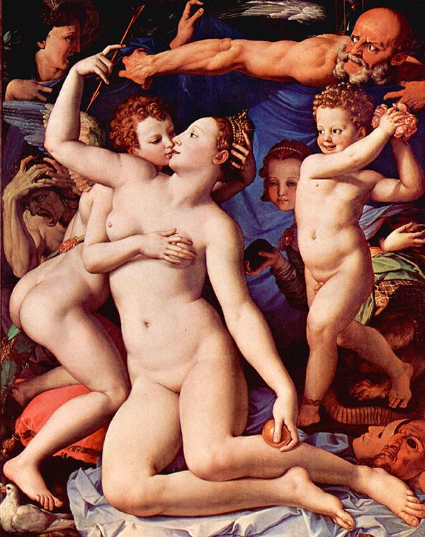 Bronzino, Allegoria del trionfo di Venere