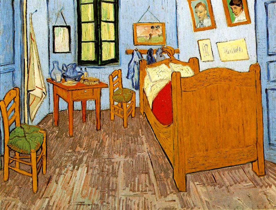 LVincent Willem van Gogh, a camera di Vincent ad Arles, olio su tela, 72x90cm, 1888, Van Gogh Museum, Amsterdam