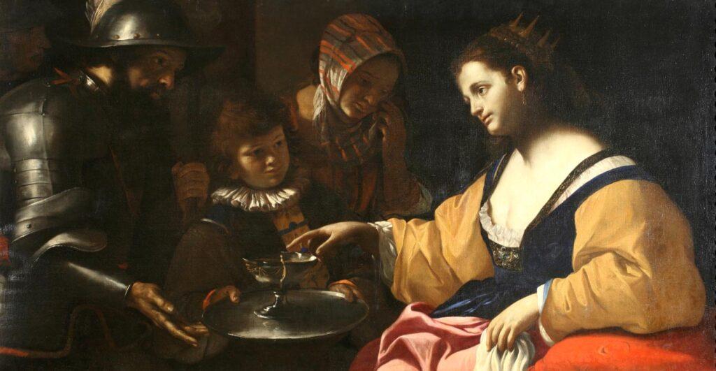 Sofonisba Cosenza, Galleria Nazionale di Palazzo Arnone olio su tela, cm 87,5 x 166