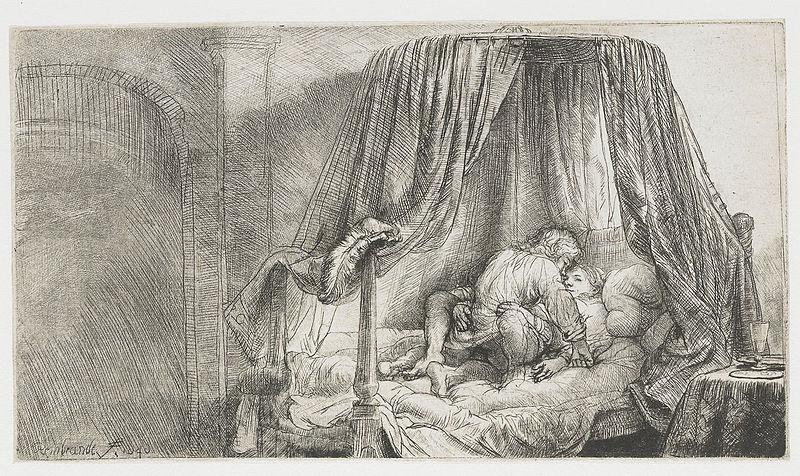 Rembrandt le lit a la francaise