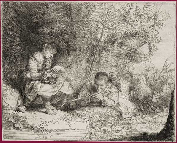 Rembrandt pastore