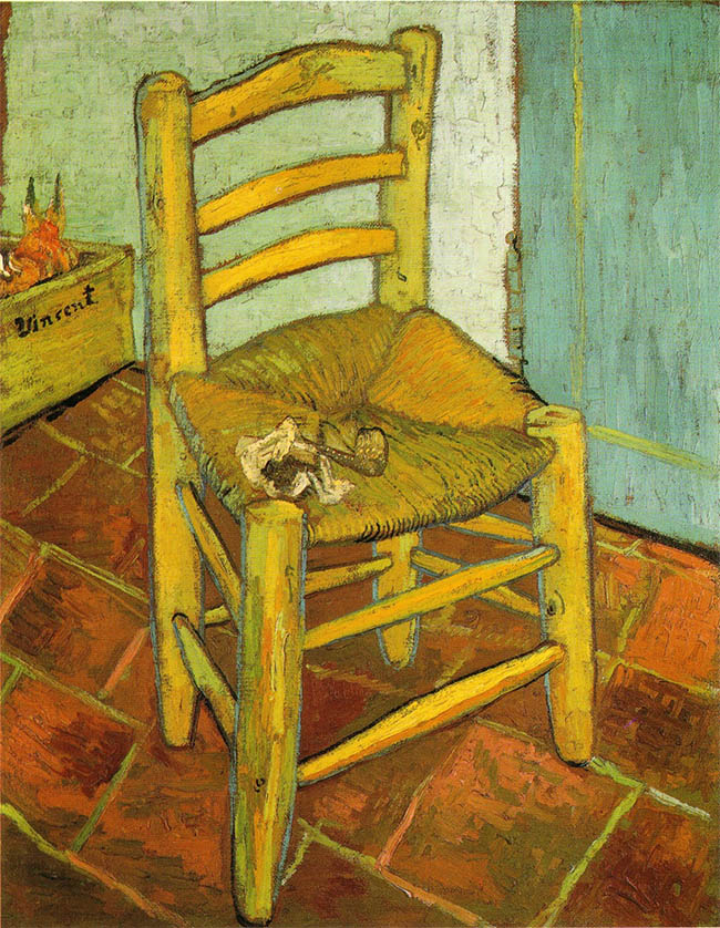 Vincent Van Gogh, La sedia di Van Gogh © The National Gallery, London. Bought, Courtauld Fund, 1924