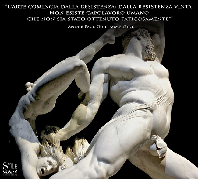 Antonio Canova, Ercole e Lica, 1795-1815, Marmo bianco, Altezza335 cm,Galleria Nazionale d'Arte Moderna, Roma