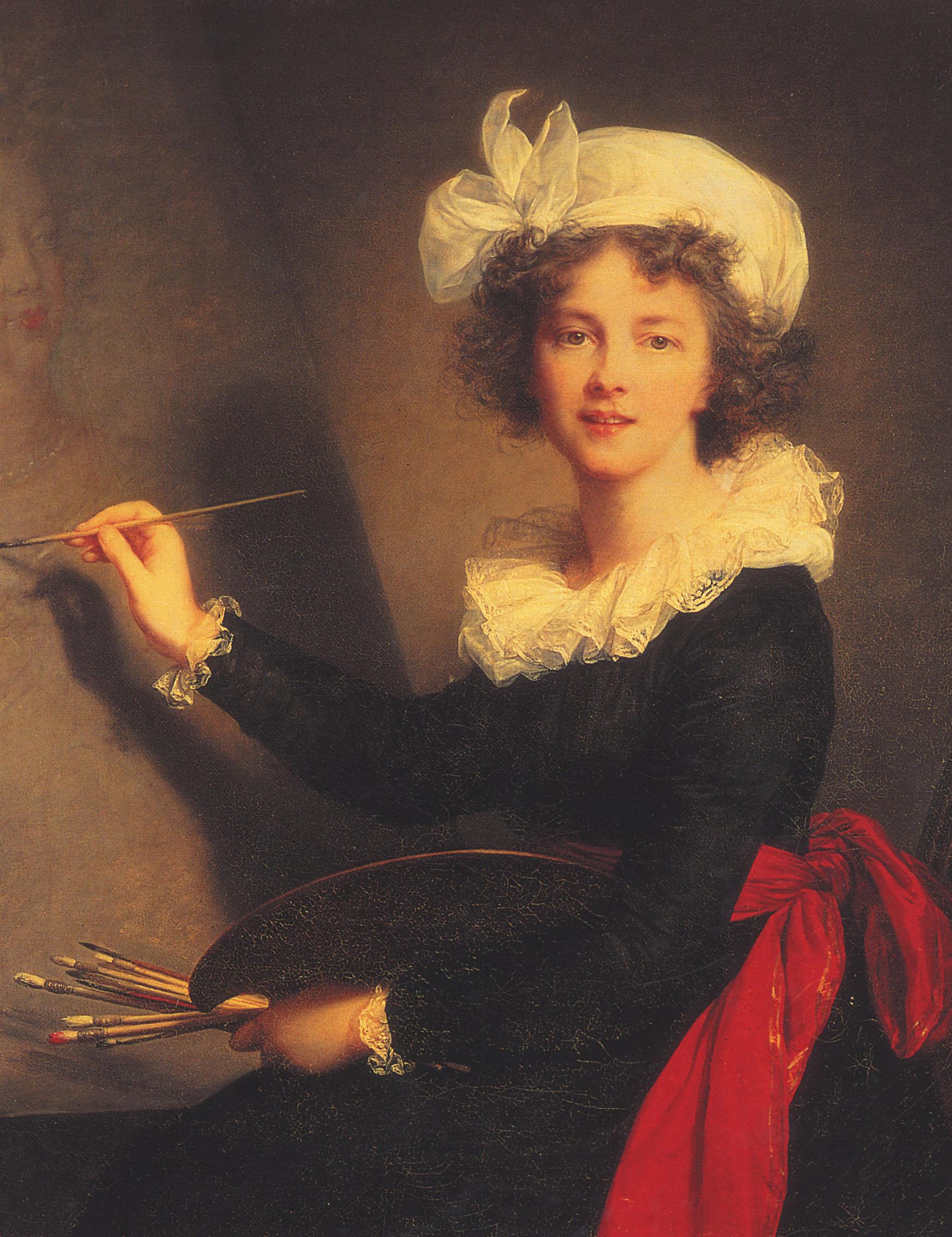 """Elisabeth Louise Vigée Le Brun, """"Autoritratto"""", 1789"""