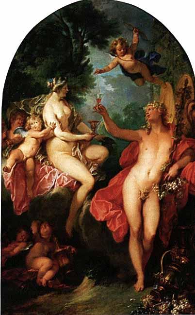 Nicolas Bertin (1667 o 1668 –1736), Bacco e Arianna