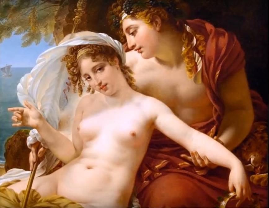 Antoine Jean Gros (1771-1835), Bacco e Arianna