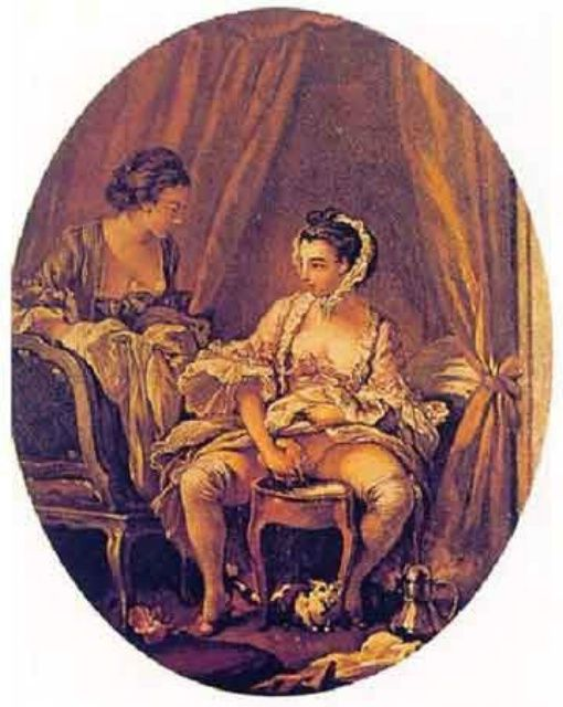 François Boucher, Toilette intime, 1741