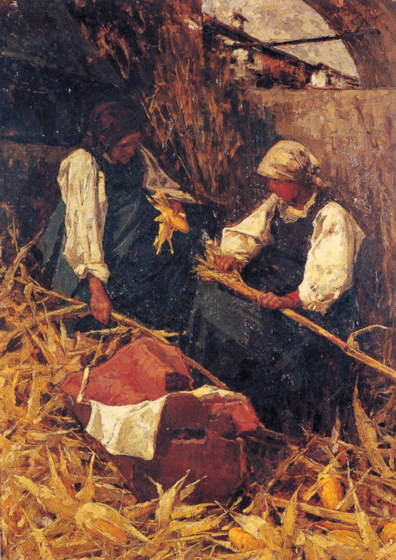 """Le spannocchiatrici"",1887-89 circa"