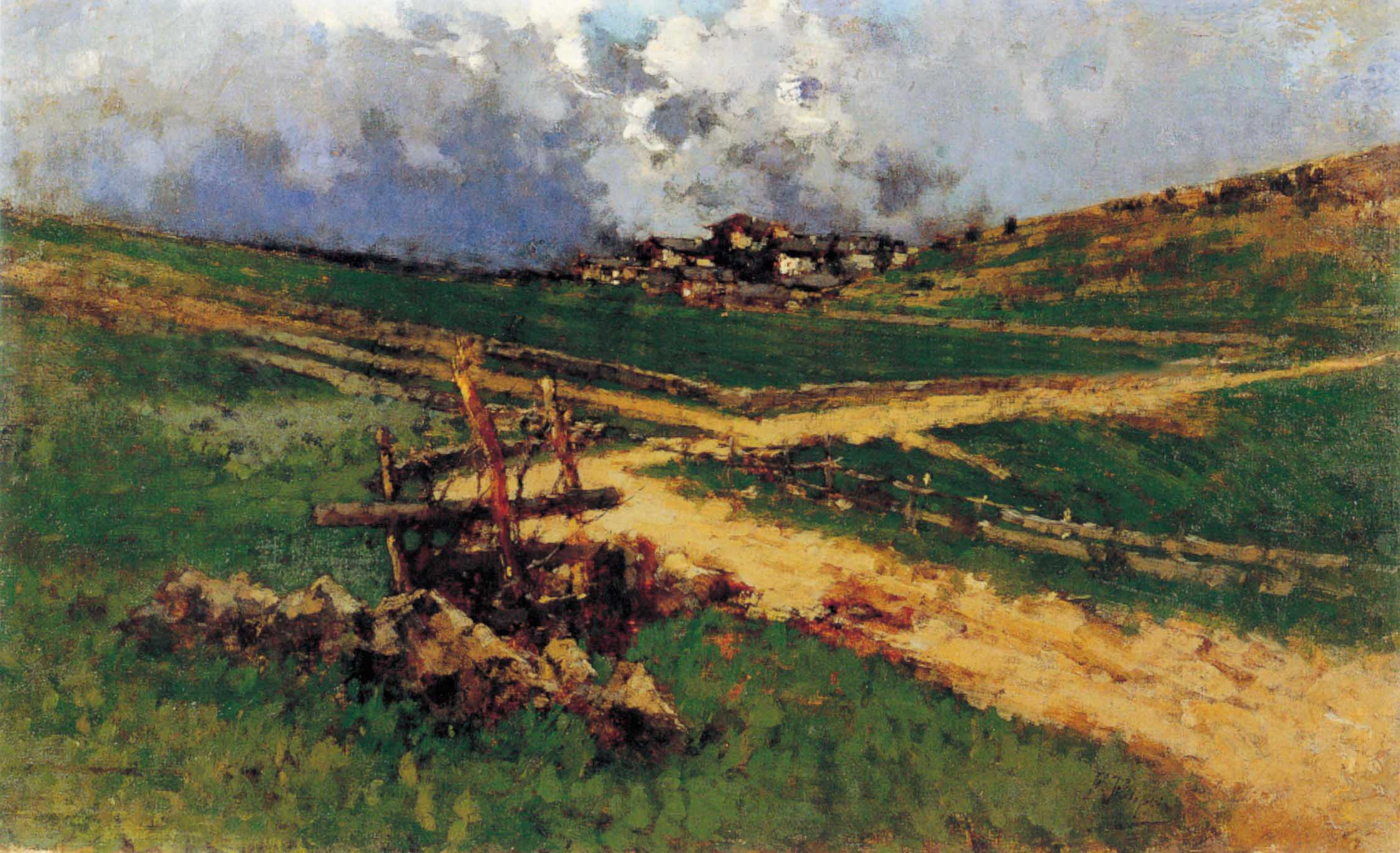 """Val Camonica"", 1887-89 circa"