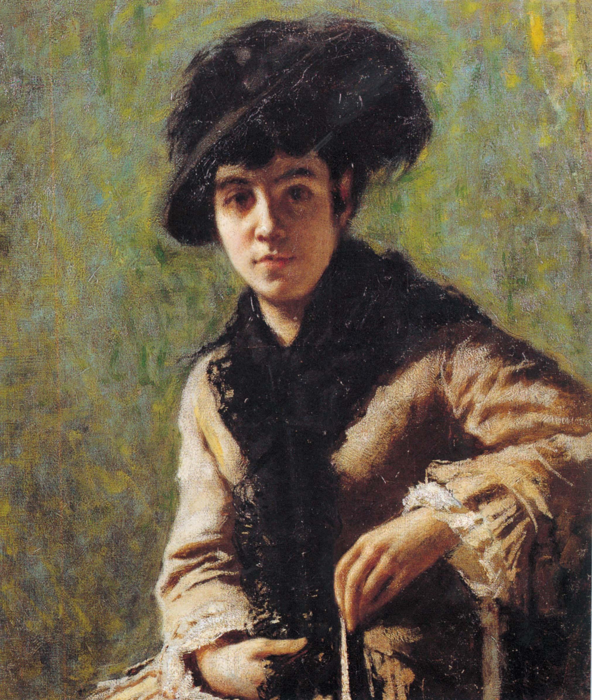 """""""Ritratto della signora Vittoria Campini"""", 1879-80 circa"""