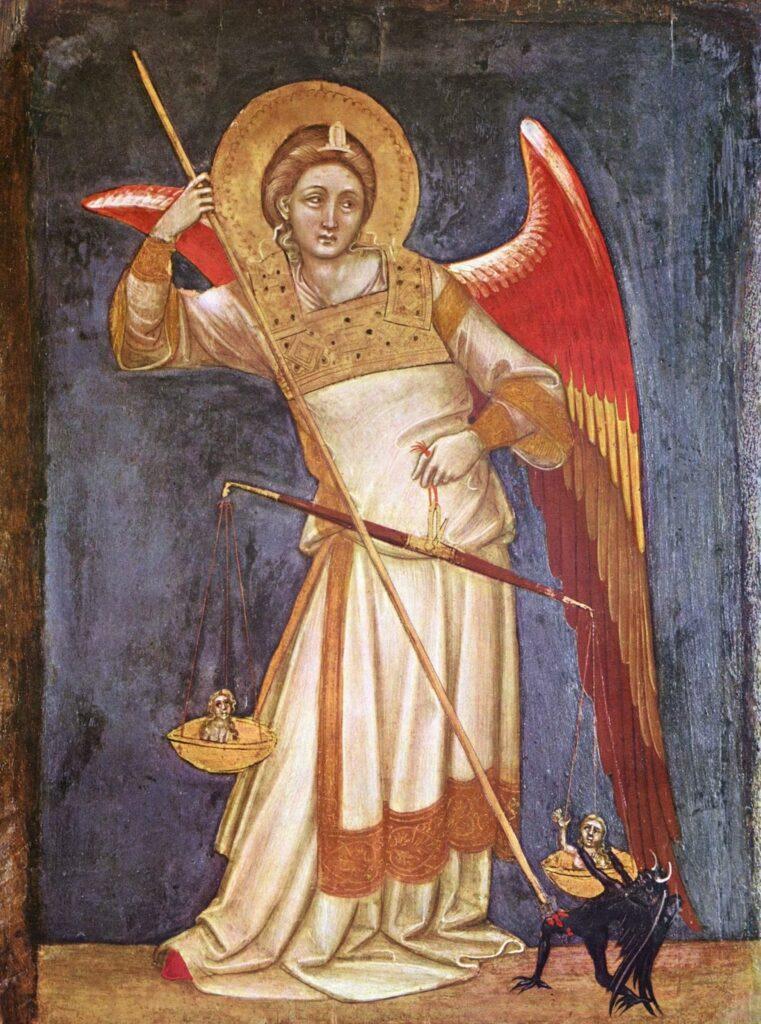 Affresco del Guariento,ca. 1350 Palazzo Carrara Padova