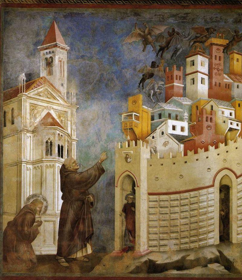 Giotto? e aiuti, 1295-1299 circa, 230×270 cm, Basilica superiore di Assisi