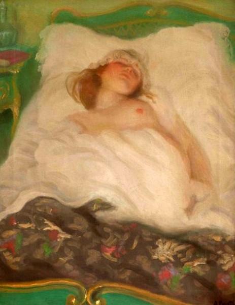 protti nudo-nel-letto-verde