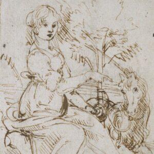 Leonardo da Vinci, Donzella con unicorno