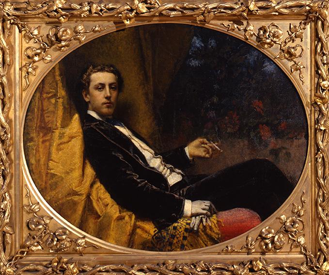 Tranquillo Cremona Ritratto di Nicola Massa, 1867 Olio su tela, 114 x 92 cm Musei civici, Pavia