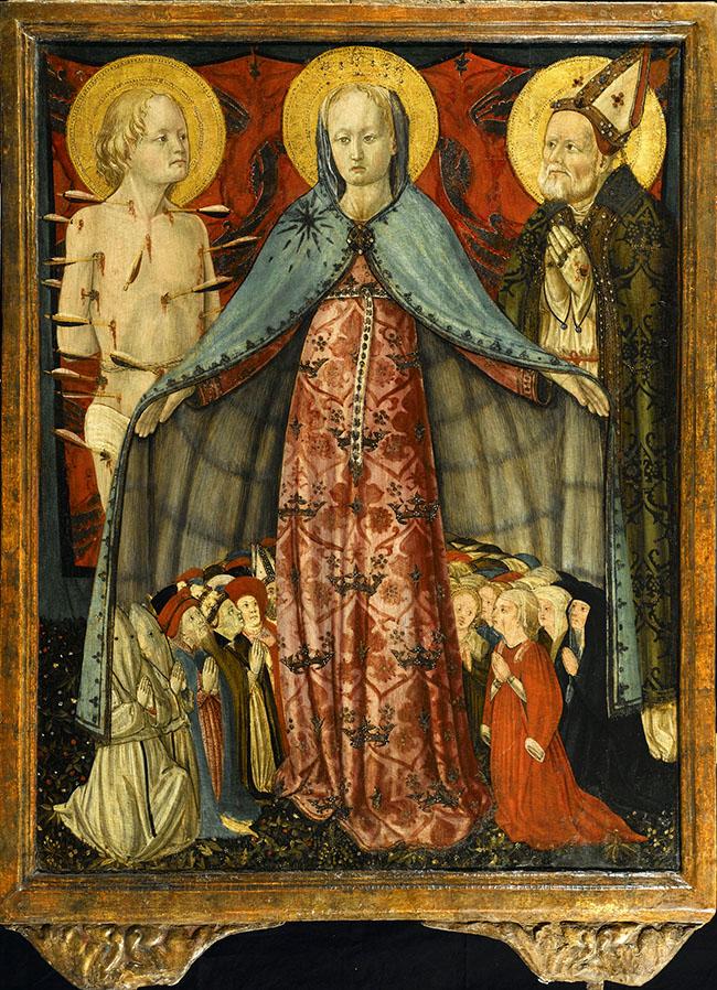 Antonio da Fabriano, Madonna della Misericordia