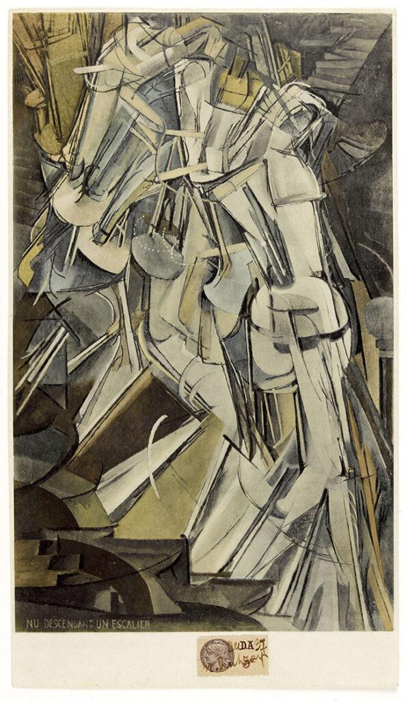 Marcel Duchamp, Nu descendant un escalier, 1937, Staatliches Museum Schwerin, © Succession Marcel Duchamp / 2015, ProLitteris, Zurich