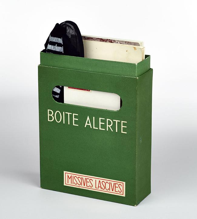 Marcel Duchamp, Tabliers de la blanchisseuse (chiuso), 1959, Staatliches Museum Schwerin, © Succession Marcel Duchamp / 2015, ProLitteris, Zurich