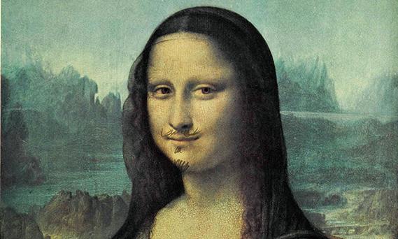 Gioconda con i baffi. Marcel Duchamp, Dada e Neodada, la ... Dadaism Mona Lisa