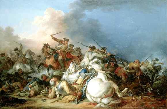 Francesco Casanova, Battaglia di cavalleria
