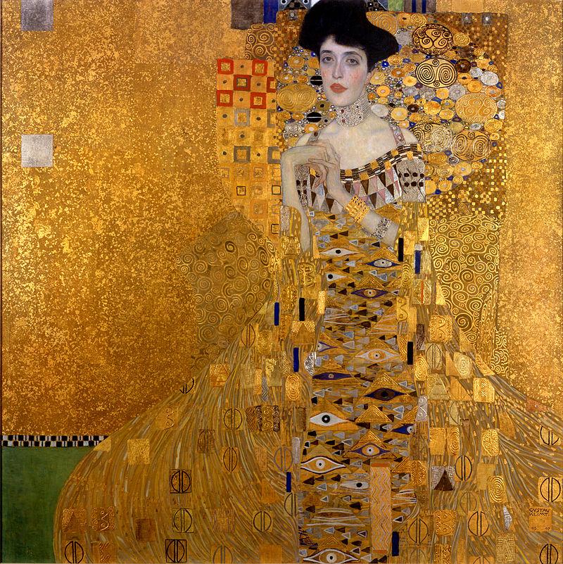 Gustav Klimt, Ritratto di Adele Bloch-Bauer I, 1907