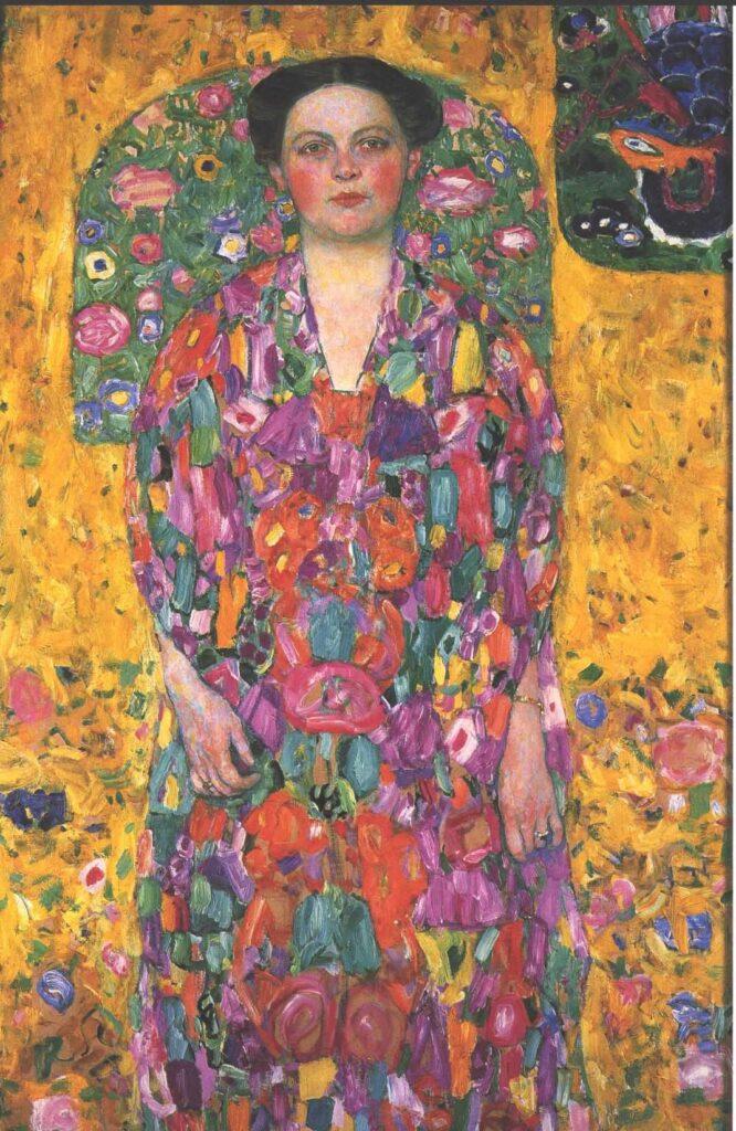 Gustav Klimt, Ritratto di Eugenia Primavesi, 1913.
