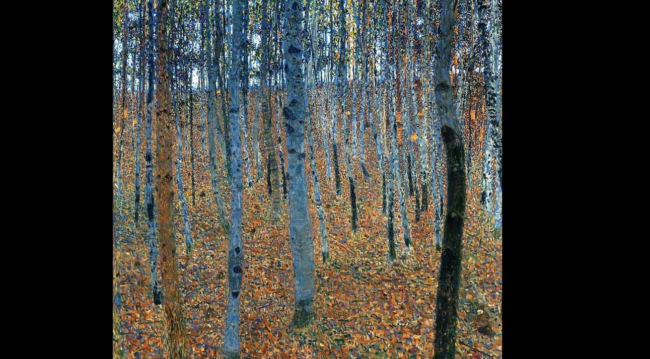 Il Bosco Dautunno Inverno Ecco I Segreti Tecnici Di Klimt Stile Arte