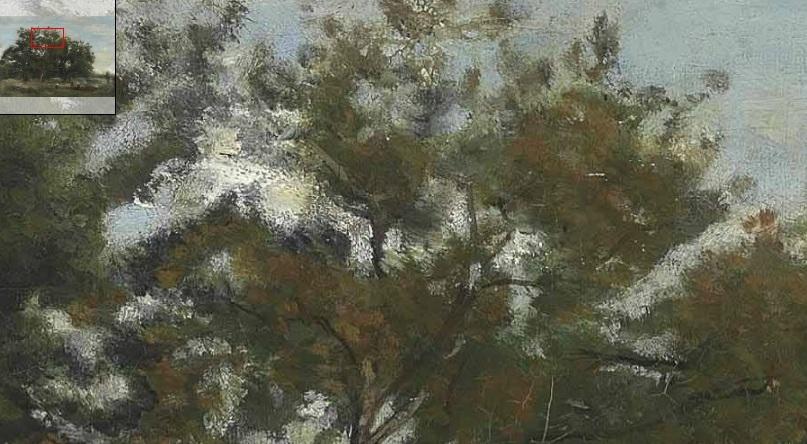 corot alberi